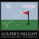 Golfer's Delight - Afghan Crochet Graph Pattern Chart