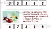 50 Punch Cards - Pick Up