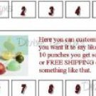 50 Punch Cards - Shipped