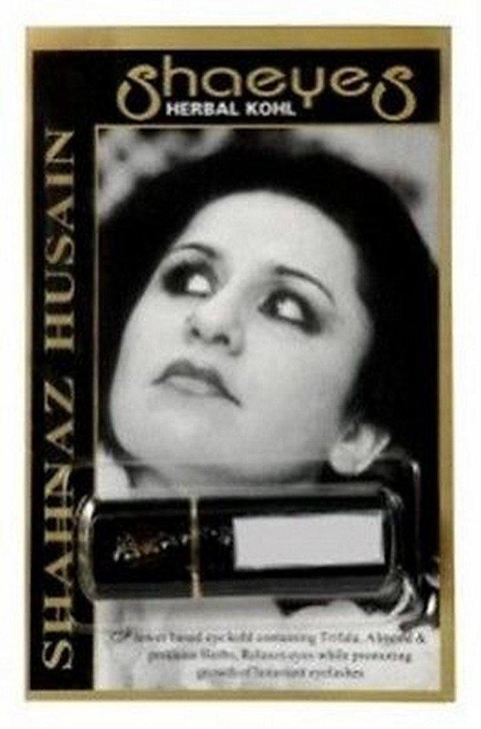 2 X Shahnaz Husain Herbal Kohl Kajal Eyeliner - 2g x 2,fast delivery guaranteed