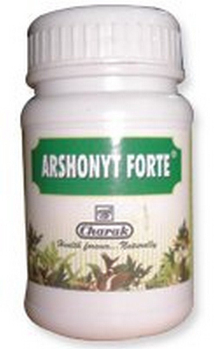5 LOT X Charak Arshonyt Forte 40 Tablets - A combo therapy for piles and prevents reccurence