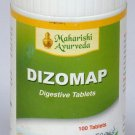 2 LOT X Maharishi Ayurveda Dizomap Tablets (100 Tablets)- Regulates peristalsis/Digestive disorders