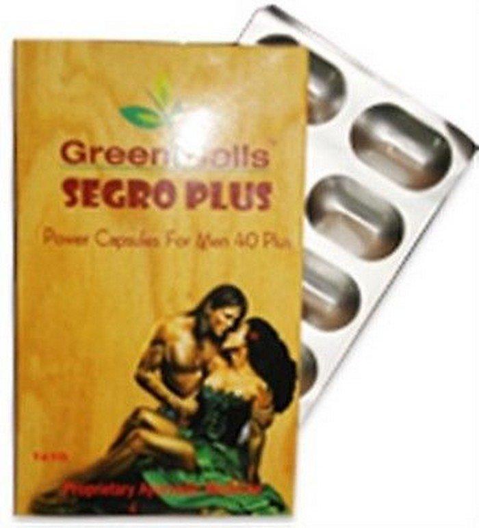 3 X Green Calls Segro Plus- 10 CAPS X 3 -Herbal Men Sexual Performance Enhancer
