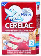 2 LOT X Nestle Cerelac Wheat Apple Cherry FLAVOUR Stage 2-8 Months