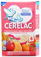 2 LOT X Nestle Cerelac Multi Grain 5 Fruits - Stage 4-12 Months