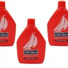 3 LOT X Old Spice After Shave Lotion Pack of 3 - Original