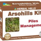 Herbal Hills Arsohills Kit - Ayurvedic Medicine for Piles Support -Each 500 Mg Coated Tablets