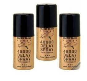 2 LOT X Deadly Shark Delay Spray 25000 with Vitamin E