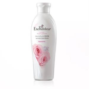 Enchanteur Perfumed Body Lotion Moisture Silk Aloe Vera & Olive Butter Romantic - 250 Ml