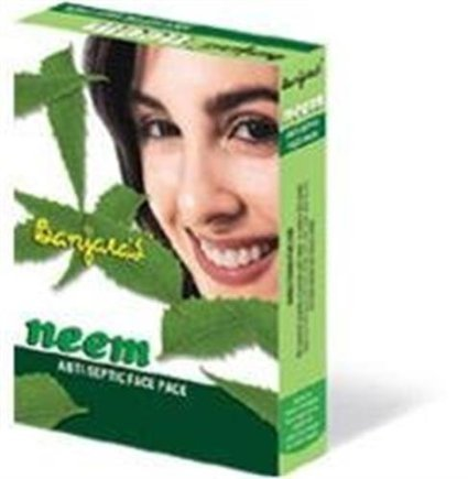 3 LOT X Banjara's Neem Anti Septic Face Pack 100 X 3 - Fast Delivery Guaranteed