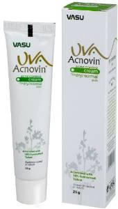 5 LOT X UVA Acnovin Cream (For Healthy & Glowing Skin) - 25 G X 5