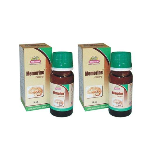 2 x Wheezal Homeopathy- Memorine Drops.(Pack of 2)