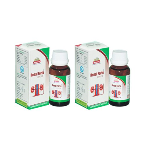 2 x Wheezal Homeopathy - Renal Forte Drops.(Pack of 2)