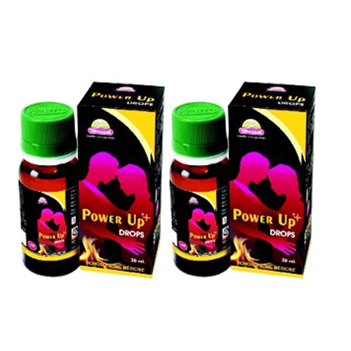 2 x Wheezal Homeopathy- Power Up Drops.(Pack of 2)