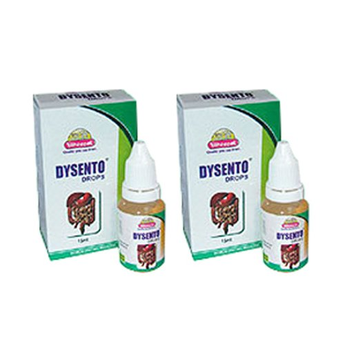 2 x Wheezal - Homeopathy - Dysento Drops.(Pack of 2)