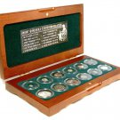 Ancient Greek World 12 Silver Coin Collection