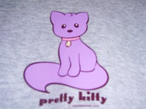 New Pretty Kitty T-shirt Youth 6/8