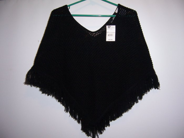 Black Shawl w/tags from J.C.Penneys New nwt
