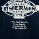 Fisherman T-shirt X-Large NEW