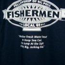 Fisherman T-shirt X-Large NEW