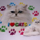 New I Love Cats Youth Medium Item # 1