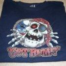New Got Rum ? T-shirt Navy 2XL Fruit Of The Loom