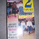 Learn Country Line Dancin'2Tape set vhs