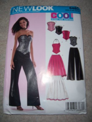 New Look Cool Sized for Juniors Pattern #6480 SizeA 3/4 - 13