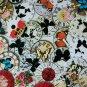 """Antique Embellished Clocks 1"""" Round Images"""