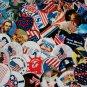 """All Patriotic 1"""" Round Images"""