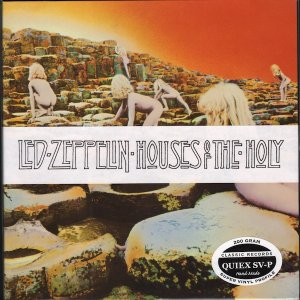 Led Zeppelin, Houses of the Holy. 200 Gram 33rpm, Sealed Vinyl LP (out of print)