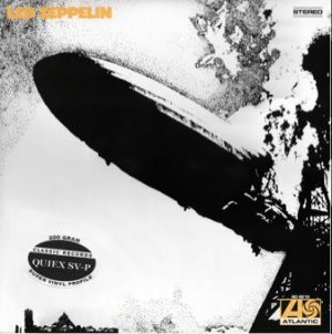Led Zeppelin, 1, I, One, 200 Gram 33rpm Sealed Vinyl LP (out of print)