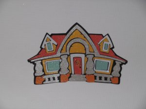 Disney Mickey Mouse's House Scrapbook Paper Piecing