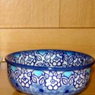 Polish Pottery Bowl Condiment  Lu Boleslawiec Poland