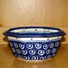 Polish Pottery Bowl 8 Side Veggie Boleslawiec Poland