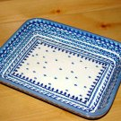 Polish Pottery Baker  Exclusive Unikat Boleslawiec Poland