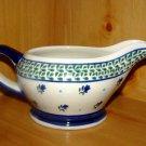 Polish PotteryGravy Boat Morning Delight Gat 1 Zaklady Ceramiczne Boleslawiec Poland