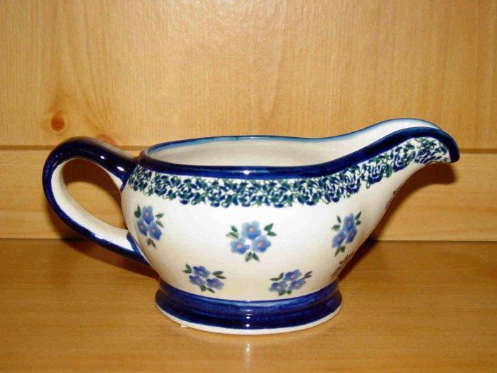 Polish Pottery Gravy Boat Sydney Gat 1 Zaklady Ceramiczne Boleslawiec Poland