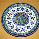 Polish Pottery Dessert Plate New Hope Gat 1 Zaklady Ceramiczne Boleslawiec Poland