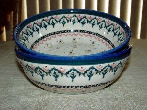 Polish Pottery Bowl  Madison Gat 1 Zaklady Ceramiczne Boleslawiec
