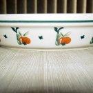 Polish Pottery Pie Dish Boleslawiec Poland Cherries Pattern