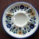 Polish Pottery Deviled Egg Veggie Fruit Tray Unikat Sunny Days From WR Ceramika Boleslawiec
