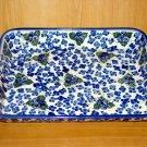 Polish Pottery Baker Signature Three Sisters From Unikat WR Ceramika Boleslawiec Poland