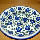 Polish Pottery Signature Deviled Egg Veggie Fruit Tray Violet Village WR Unikat Boleslawiec