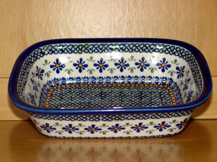 Polish Pottery Loaf Baker New Hope Unikat Zaklady Ceramiczne Boleslawiec Poland