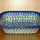 Polish Pottery Loaf Baker  Shannon Unikat Zaklady Ceramiczne Boleslawiec Poland