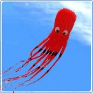 ALIEN ATTACK 8M HUGE MONSTER OCTOPUS PARAFOIL KITE TOY - RED