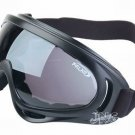 UV400 PROTECTION POLYCARBONATE MOTORCYCLE JET SKI SNOWBOARDING PADDED GOGGLES