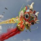 4 METERS LONG CHINESE DRAGON KITE TOY GREAT GIFT IDEAS ARTS & CRAFTS DECOR HANDICRAFT
