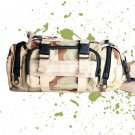 MULTI-PURPOSE ARMY MILITARY CAMO FANNY WAIST BAG